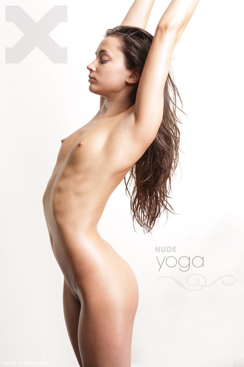 Georgia in Nude Yoga / Download Zip