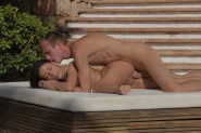 Petite babe Ivy fucked in outdoor erotica from X-Art Beauties